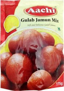 Aachi Gulab Jamun Mix 175 gm  Buy 1 Get 1 175gm Each Free