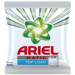 Ariel Washing Detergent Powder Matic Top Load 500 gm