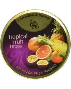 Cavendish & Harvey Tropical Fruit Drops 200 gm