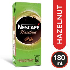 Nescafe Hazelnut Ready To Drink Cold Coffee 180ml Tetra Pack