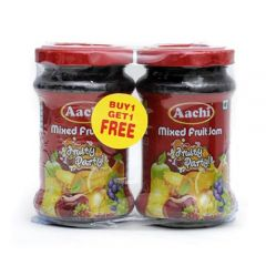 Aachi Jam - Mixed Fruit Fruity Party, 200 gm Buy 1 Get 1 Free- 450 gm Buy 1 Get 1 Free