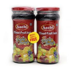 Aachi Jam - Mixed Fruit Fruity Party, 200 gm Buy 1 Get 1 Free