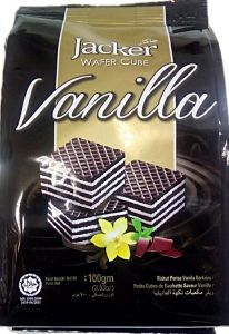 Jacker Wafer Cube (Vanilla) 100 gm