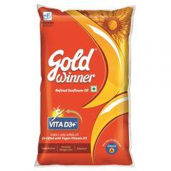 Gold Winner Refined  Sunflower Oil 1 L