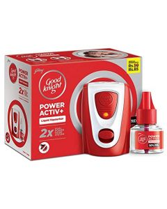 Good knight Power Activ+ Combo (Machine + Refill)