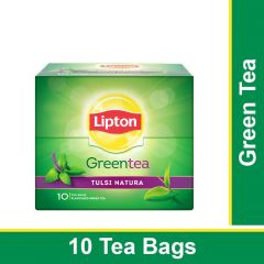 Lipton Tulsi Natura Green Tea Bags 10 Pieces