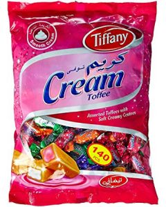 Tiffany Cream 140 pcs