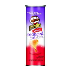 Pringles Reduced Fat Original Potato Crisps 140gm