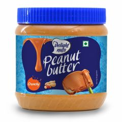 Delight Nuts Peanut Butter Crunchy 340gm