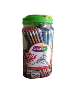 Creation Yoyo Triangular Extra Dark Pencils - 100 Pieces Box