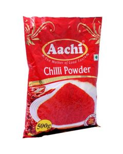 Aachi Powder Pure Chilli 500 gm