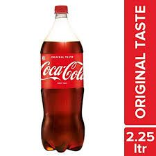 Coca Cola Soft Drink, 2.25 L Bottle