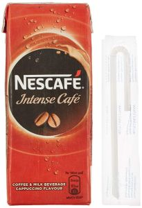 Nescafe Intense Cafe Ready To Drink Cold Coffee 180Ml Tetra Pak