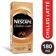 Nescafe Chilled Latte Ready To Drink Cold Coffee 180Ml Tetra Pak