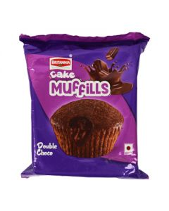 Britannia Cake Muffills Double Choco