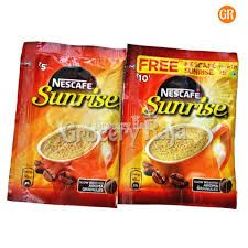 Nescafe Sunrise Coffee Rs. 10 Sachet