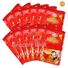 Brooke Bond Tea  3 Roses Rs. 2 sachet (Pack of 12)