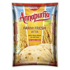 Annapurna Farm Fresh Whole Wheat Atta