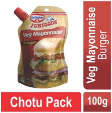 Dr Oetker Funfoods Veg Mayonnaise for Burger 100gm
