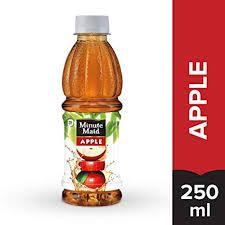 Minute Maid Apple Fruit Drink 250 ml Bottle