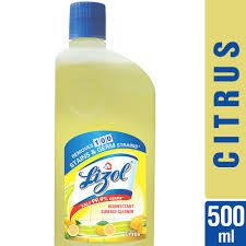 Lizol Disinfectant Floor Cleaner Citrus  500 ml