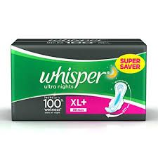 Whisper Ultra Pads XL+ 30 pads