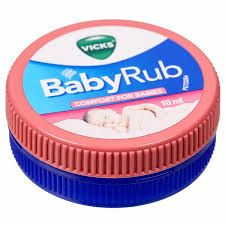 Vicks Babyrub 10 ml