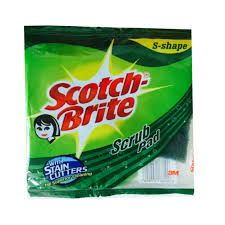 Scotch Brite Scrub Pad Medium
