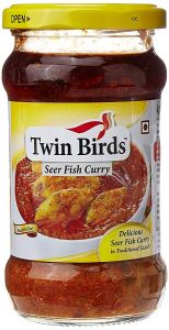 Twin Birds Nethili Fish Curry 300gm