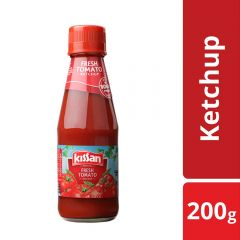 Kissan Fresh Tomato Ketchup Bottle 200gm