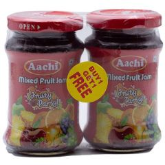 Aachi Jam - Mixed Fruit Fruity Party, 200 gm Buy 1 Get 1 Free-200 gm Buy 1 Get 1 Free