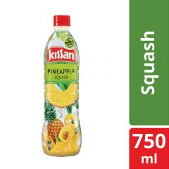 Kissan Pineapple Squash Bottle 750 ml