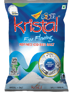 Kristal Refined Iodized Salt 1 kg