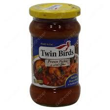 Twin Birds Prawn Pickle 300gm