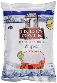 India Gate Basmati Rice Super 1kg