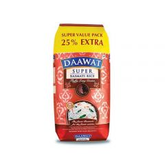 Daawat Basmati Rice - Super, 1 kg 250 gm Extra