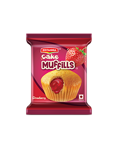 Britannia Cake Muffills Strawberry