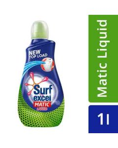 Surf Excel Liquid Detergent - Matic, Top Load 1Ltr