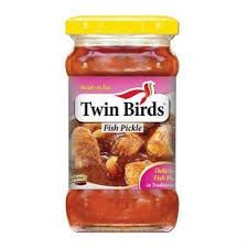 Twin Birds Fish Pickle 300gm Jar